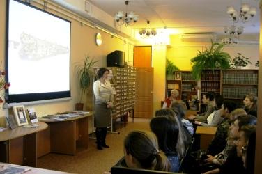 В читальном зале библиотеки проходят лектории, занятия, встречи